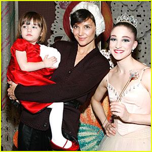 Suri Cruise is Nutcracker Nice