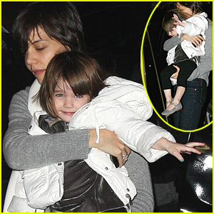 Suri Cruise is Happy to Be Home