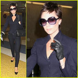 Victoria Beckham Jumps To JFK