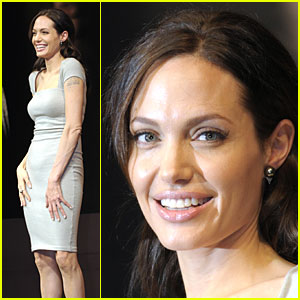 Angelina Jolie Gets Japan Juicy