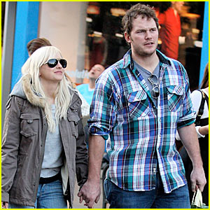 Anna Faris & Chris Pratt Couple Up
