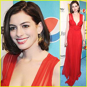 Anne Hathaway: Crimson @ The Creative Coalition