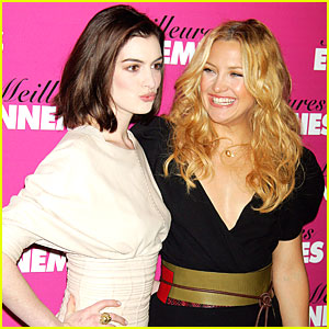 Anne Hathaway to Kate Hudson: Pucker Up!