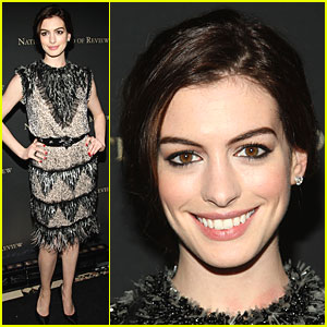 Anne Hathaway is a National Board Beauty