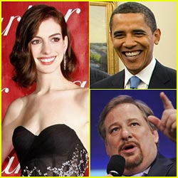 Anne Hathaway to Obama: Why Rick Warren?