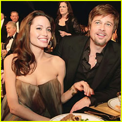 Brad Pitt & Angelina Jolie: BAFTA Beautiful