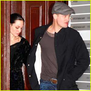 Brad & Angelina Have Berlin Blowout