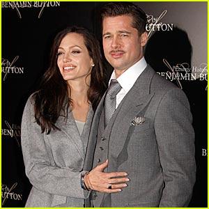 Brad Pitt & Angelina Jolie Go Gray