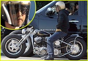 Brad Pitt: My Motorcycle Helmet is My Anonymity