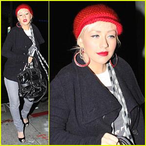 Christina Aguilera: Osteria Mozza Munchies
