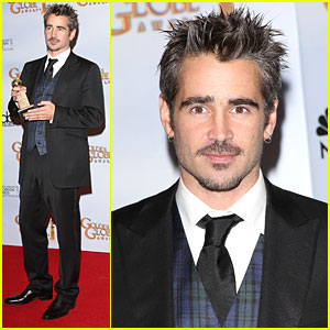 Colin Farrell Goes Golden