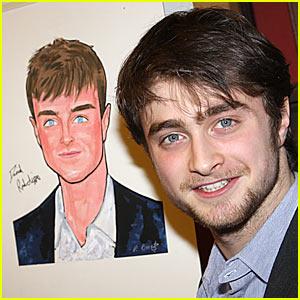 Daniel Radcliffe is Sardi's Smiley