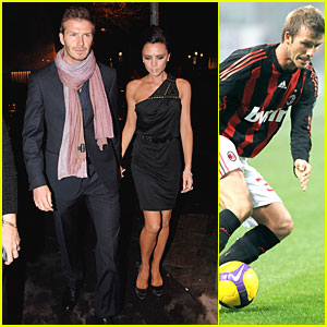 David Beckham Goes From Football to Fashion