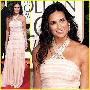 Demi Moore - Golden Globes 2009