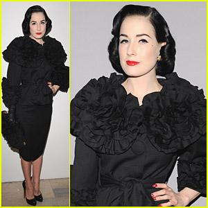 Dita Von Teese is in a Fashion Frenzy