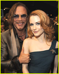 Evan Rachel Wood: Mickey Rourke? Too Old!