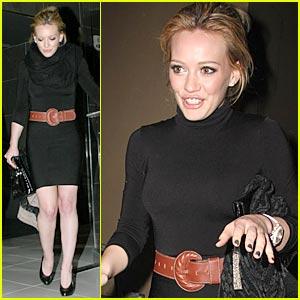 Hilary Duff Gets Her Kaysuya Kick