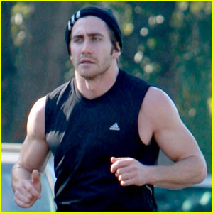 Jake Gyllenhaal is The Running Man