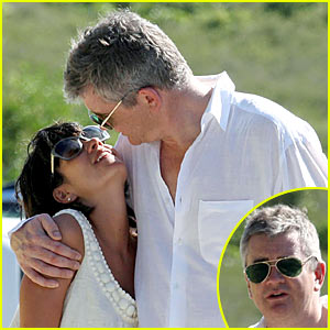 Lily Allen & Jay Jopling: Kissing Couple