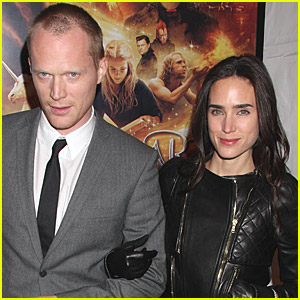 Paul Bettany Steals Jennifer Connelly's (Ink)heart