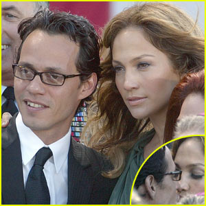 Jennifer Lopez & Marc Anthony: Kissing Couple