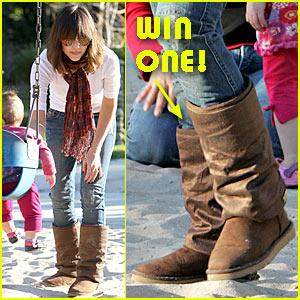 Win Jessica Alba's Australia Love Collective Boots