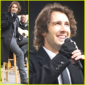 Josh Groban is Proud to be an American