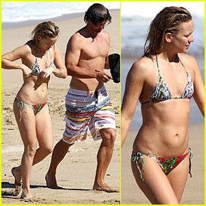 Kate Hudson & Adam Scott: Hawaii Hotties