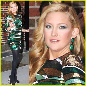 Kate Hudson Gets Green Gorgeous