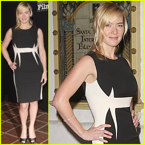 Kate Winslet Hits Santa Barbara Film Festival