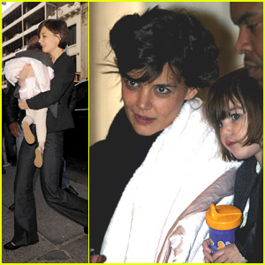 Katie Holmes: City Shopping Spree!