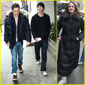 Chace & Leighton Bundle Up in the Big Apple