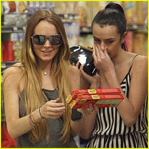 Lindsay Lohan's Sister-Supermarket Sweep