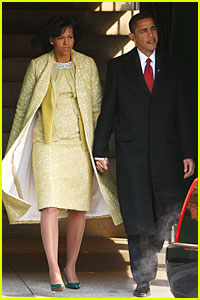 Michelle Obama Debuts Inauguration Dress