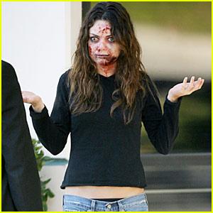 Mila Kunis is a Zombie