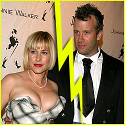 Patricia Arquette & Thomas Jane: Divorce!