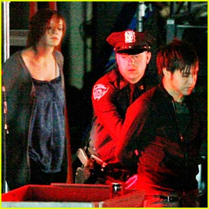Pete Wentz is CSI: NY's Chester Bryon