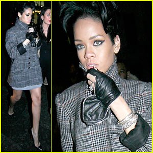 Rihanna Celebrates New Year's Eve in London