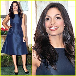 Rosario Dawson Packs on the Ports Pounds