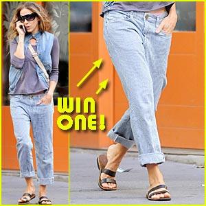 Win Sarah Jessica Parker's Current/Elliott Jeans!