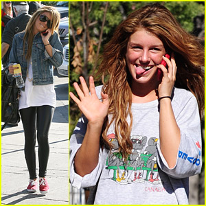 Shenae Grimes: Tongue Twister!