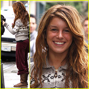 Shenae Grimes is a Meter Maid