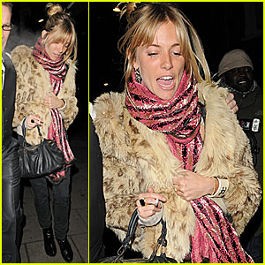Sienna Miller is a Groucho Girl