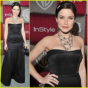 Sophia Bush is Golden Globes Gorgeous