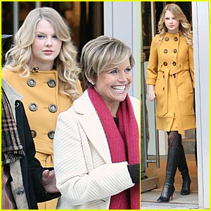 Taylor Swift & Katie Couric Shop Jeffrey