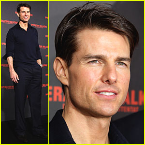 Tom Cruise Goes Bonkers for Berlin