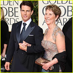 Tom Cruise's Date To The Golden Globes -- His Mom!