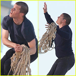 Wentworth Miller Ropes In Stunt Double