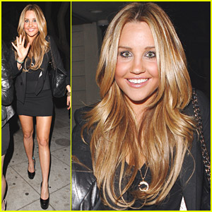 Amanda Bynes Goes To Guy's Night Club