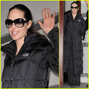Angelina Jolie is North Face Fierce